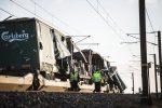 Incidente ferroviario in Danimarca: le immagini dei treni coinvolti dopo lo scontro