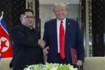 """Il monito di Trump a Kim: """"Deve denuclearizzare come promesso"""""""