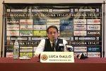 La nuova era della Reggina: Luca Gallo si presenta. Le immagini dalla conferenza stampa