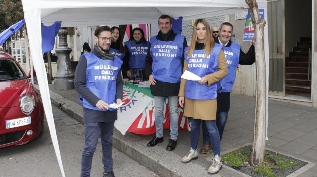 25esimo anniversario, anniversario Forza Italia, forza italia, Francesco Antonio Chirillo, Francesco De Sarro, Giuseppe Spinelli, Catanzaro, Calabria, Politica