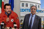 Il sindaco di Palermo sospende le misure del decreto sicurezza, scontro con Salvini