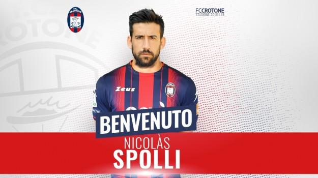 crotone calcio, crotone serie b, intervista calcio, Nicolas Spolli, Catanzaro, Calabria, Sport