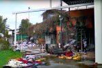 """Incendio ad un resort di Sibari, il proprietario: """"Senza Stato mollo"""""""