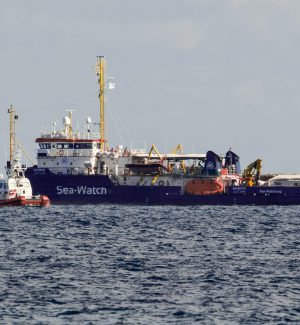 La nave Sea Watch 3