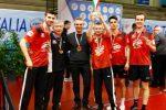 La Top Spin Messina alza al cielo la Coppa Italia