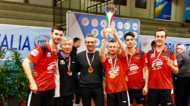 coppa italia tennistavolo, top spin messina, Messina, Sicilia, Sport