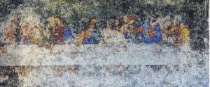 La copia dell'Ultima cena ritrovata in un convento di Saracena