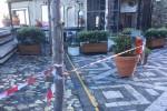 """La piazza di Castelmola """"sta crollando"""", il monito del sindaco Russo"""