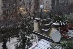 Nevicata su Cosenza e Rende, scuole chiuse - Le immagini di tetti e strade imbiancate