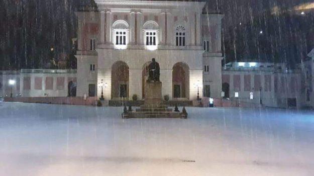 neve cosenza, senza tetto cosenza, Cosenza, Calabria, Cronaca