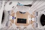 Gli interni della stazione spaziale Aurora (fonte: Orion Span)