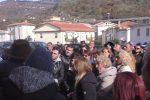 Guardia Marina, protesta pacifica dei lavoratori delle Terme Luigiane