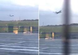 Il volo Ryanair da Malta ha dovuto rinunciare all'atterraggio per il forte vento che imperversava sull'aeroporto inglese di Leeds-Bradford