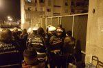 Controlli della polizia municipale a Giostra