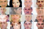 """Retata con 25 fermi a Vibo, """"la cosca Mancuso multinazionale del narcotraffico"""" - Nomi e Foto"""