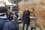 Baracche, De Luca: andremo avanti anche senza il Governo. A Messina tornano le telecamere Rai - Foto