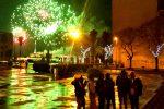 Fuochi d'artificio a Messina per festeggiare il nuovo anno: video
