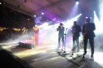 Capodanno a Reggio Calabria tra pioggia e il concerto di Giuliano Palma
