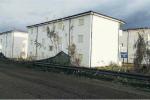 Alcuni degli alloggi popolari realizzati a Rosarno