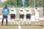 L'inizio del match Castrovillari-Portici