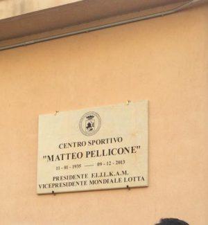 """Reggio, intitolato l'impianto sportivo """"La Pagoda"""" intitolato a Matteo Pellicone"""
