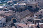 Il centro di Cosenza, dall'alto.