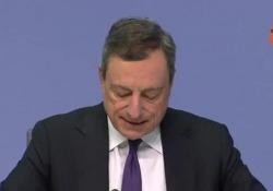 La conferenza del presidente Bce