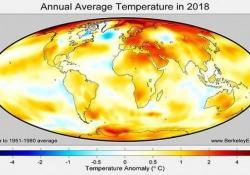 Il 2018 è stato il quarto anno più caldo a livello globale (il più caldo in Italia)