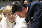 Merkel lauds Conte's 'calm' style