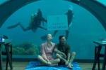 Fedez e Chiara Ferragni, a cena nel ristorante sott'acqua alle Maldive. Ma quanto costa?