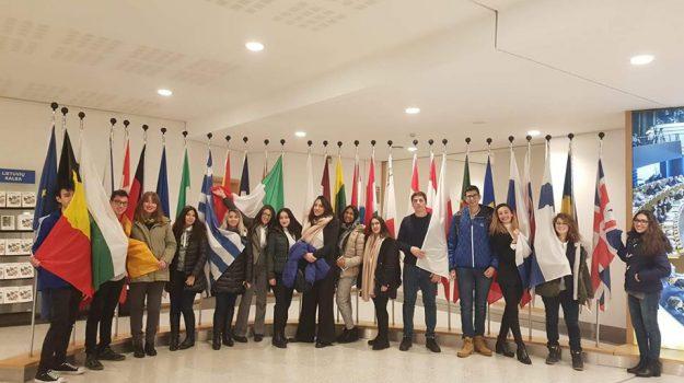 Gli studenti del Bisazza al parlamento europeo