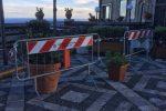 Castelmola, parte lunedì la messa in sicurezza della piazza che rischia di crollare