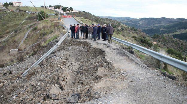 frana oriolo, frana Oriolo Montegiordano, Cosenza, Calabria, Cronaca