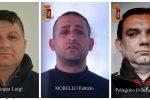 Furti di auto tra Lamezia e Catanzaro per rivenderne i pezzi, tre arresti: nomi e foto