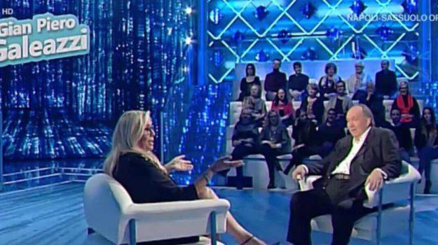 galeazzi a domenica in tv, Giampiero Galeazzi, Mara Venier, Sicilia, Società