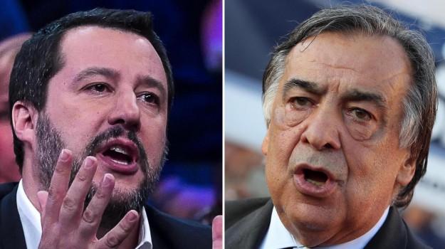 caso sea watch, migranti, Leoluca Orlando, Matteo Salvini, Sicilia, Politica