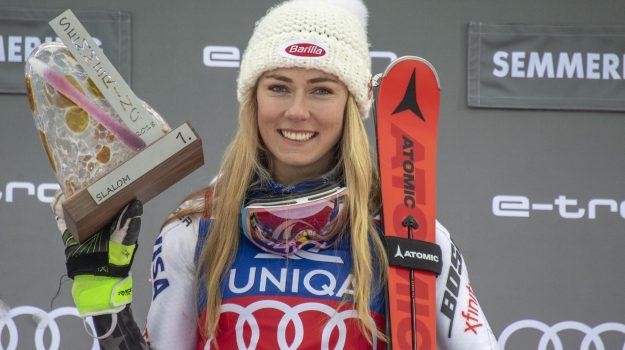 Mikaela Shiffrin, sci, slalom zagabria, Mikaela Shiffrin, Sicilia, Sport