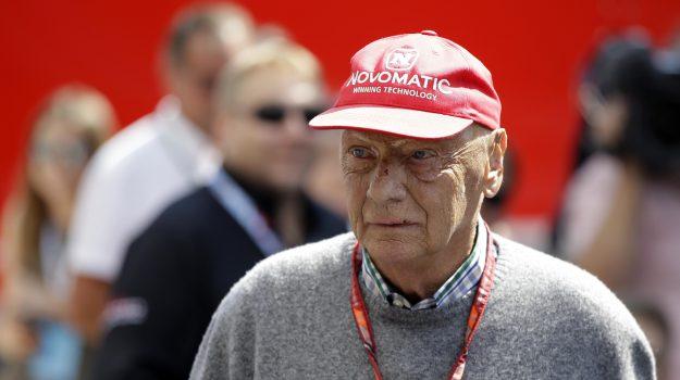 influenza Lauda, Lauda sta male, ricovero Niki Lauda, Niki Lauda, Sicilia, Sport