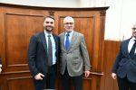 A destra il Procuratore Capoccia insieme al sostituto procuratore Manca