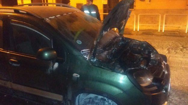 incendio auto roccabernarda, Francesco Coco, Catanzaro, Calabria, Cronaca