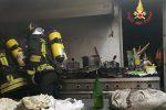 Incendio in un hotel di Nocera Terinese: a fuoco una friggitrice, nessun ferito