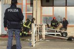 Messina, incendio in un deposito dell'ospedale Papardo - Video