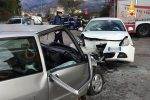Incidente stradale a Lamezia, scontro tra due auto: ferita una donna