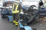 Incidente in autostrada a Sibari, auto contro una pattuglia della polizia: un ferito grave