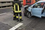 Ancora un incidente sulla A18 all'altezza di Letojanni, 38enne trasportato al San Vincenzo