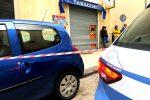 Saracinesca di una tabaccheria a Camaro crivellata di colpi di arma da fuoco, indagini