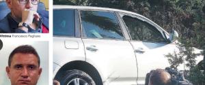 L'auto su cui viaggiava l'avvocato Pagliuso