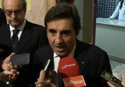 Il presidente e Ad di Rcs a margine cerimonia di proclamazione del Premio Cairo a Palazzo Reale a Milano