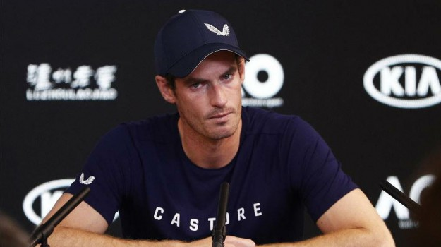 murray ritiro, tennis, Andy Murray, Sicilia, Sport