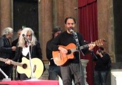 La commemorazione per il ventesimo anniversario dalla morte del cantautore genovese